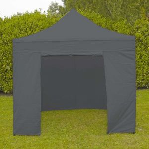 MobEventPro Mur porte zippable tente pliante PRO 40MM 4m gris