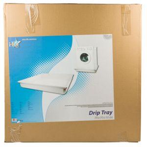 Hq W9-DRIPTRAY - Bac de collecte pour lave linge (70 x 70 x 10 cm)