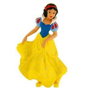 Bullyland Figurine Blanche Neige robe paillettée