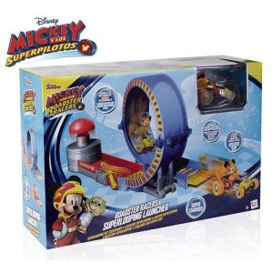 IMC Toys MICKEY & SES AMIS Top Départ Lanceur Super Looping