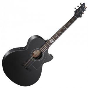 Cort EVL-A4 Guitare acoustique noir satine