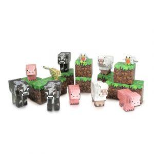 Giochi Preziosi Animal Mobs - Kit construction papier Minecraft