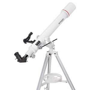 Bresser Lunette astronomique 70/700 AZ AR Messier avec trépied et Accessoires