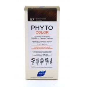 Phyto Paris Coloration Permanente 6.7 Blond Fonce Marron