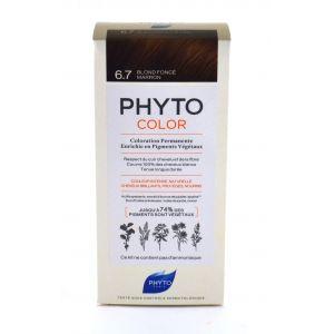 Phyto Paris Coloration Permanente 6.7 Blond Fonce Marron