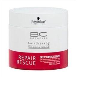 Schwarzkopf BC Bonacure Repair Rescue Creme Shampoo - Shampoing crème pour cheveux