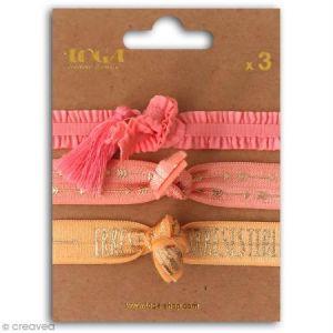 Toga Set de bracelets élastiques - Juicy - 3 pcs