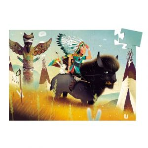 Djeco Tatanka, jeune indien - Puzzle 36 pièces