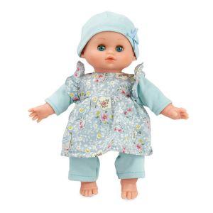 Petitcollin Bébé Petit Câlin 28 cm - Ecolo doll - Habillage Azalée