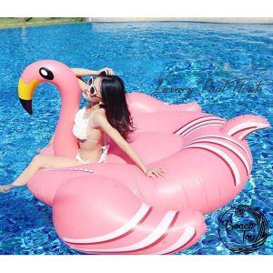Beach Toy Bouée Géante Flamingo - Taille XXL
