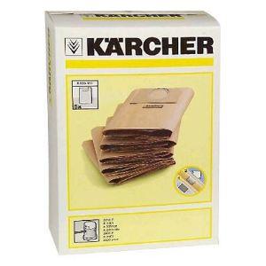 Kärcher 6.959-130.0 - 5 sacs papier pour aspirateurs série MV 3 / WD 3.xxx / A 22xx / A 25xx / A26xx / SE 4001, 4002