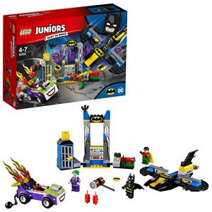Lego 10753 - Juniors Super Heroes : l'attaque du Joker de la Batcave