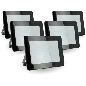 Eclairage design Lot de 5 projecteurs 30W IP65 extérieur   blanc-chaud-2700k