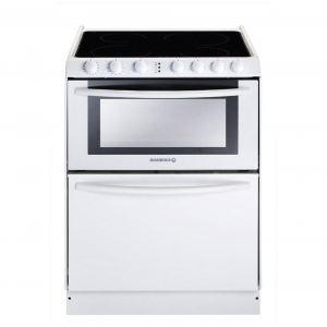 Rosières TRIPLE 10V - Cuisinière vitrocéramique four électrique 39 L avec lave-vaisselle 6 couverts AAA