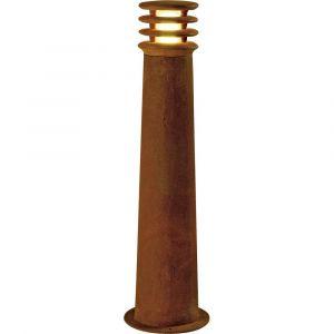 SLV Borne éclairage extérieur IP55 Rusty LED Rond 70 cm