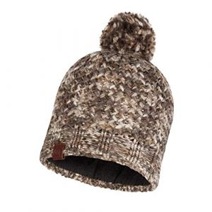 Buff Knitted & Polar Hat Margo Margo brown taupe