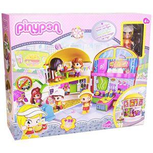 Pinypon Le restaurant drive avec 1 figurine