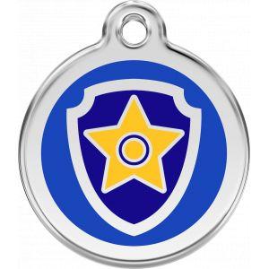 Gloria Offre découverte -15 %: Paw Patrol Médaillon d'identité Chase 20 mm