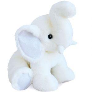Histoire d'ours Peluche éléphant So Chic blanc (35 cm)