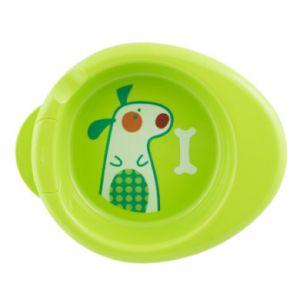 Chicco Assiette chauffante bébé Warmy 6 M+ vert