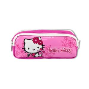 Trousse double compartiment Hello Kitty