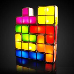 Paladone Lampe blocs lumineux Tetris