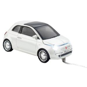 Click Car Fiat 500 New Wired - Souris optique filaire USB