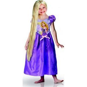 Rubie's Déguisement princesse Raiponce avec perruque