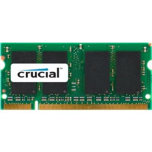 Crucial CT25664AC667 - Barrette mémoire 2 Go DDR2 667 MHz SODIMM 200 broches