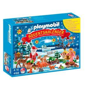 Playmobil 4166 - Calendrier de l'avent : Les animaux de la forêt