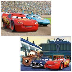 Ravensburger Puzzle 2 x 12 pièces - Cars : Flash McQueen et ses amis