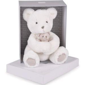 Histoire d'ours Peluche maman/bébé ours