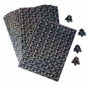 Pochette de 15 feuilles A4 holographiques