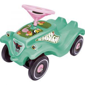 Big Dickie Toys -Bobby-Car-Classic Tropic Flamingo Porteur 800056118 Vert