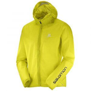 Salomon Bonatti Race WP Jacket - Veste de running taille XL, jaune