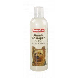 Beaphar Shampoing pour Chien Peau de Brillant | Chien Shampooing pour Pelage Brillant | avec macadamiaöl | Toilettage pour Chien - PH Neutre - Contre Mauvaises Odeurs - 250 ML
