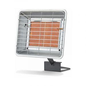 Favex Radiant de chantier au gaz à poser 3500W - Extérieur - Brûleur céramique infrarouge - 2 puissances de chauffe - jusqu'à 25