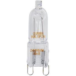 Osram 10 x 60 W 240 V G9 Halopin ECO Halogène Capsule Lampe
