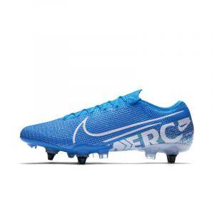 Nike Chaussures de foot Mercurial Vapor XIII Elite SG-Pro Anti-Clog bleu - Taille 47