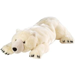 Wild Republic Peluche Floppies : Ours polaire 76 cm