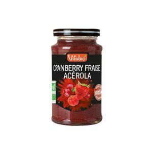 Vitabio Tartinable Antioxydant Fraise Cranberry Acérola 290g