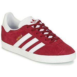 Adidas Gazelle J, Chaussures de Fitness Mixte Enfant, Rouge (Buruni/Ftwbla/Ftwbla 000), 36 2/3 EU