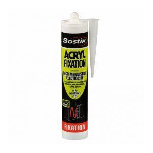 Bostik Mastic acrylique de fixation multi-usages ACRYL FIXATION -