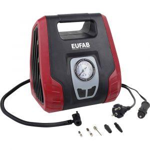 EUFAB Compresseur Double Puissance Avec Raccord 12v Et 230v