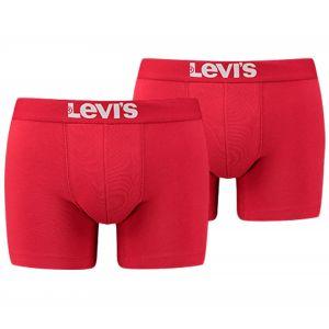 Levi's Vêtements intérieurs -- 200sf Boxer Brief 2 Pack - Chili Pepper - M