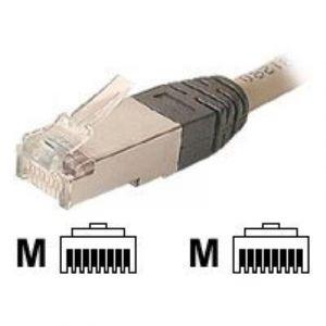 Dexlan 255050 - Cordon réseau STP Croisé CAT5e 3m