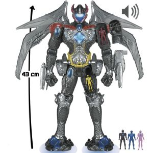 Bandai DX Megazord Interactif Power Rangers le film
