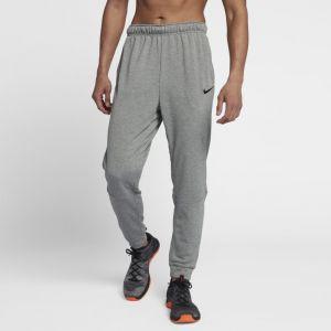 Nike Pantalon de training fuselé en tissu Fleece Dri-FIT pour Homme - Gris - Taille M - Homme
