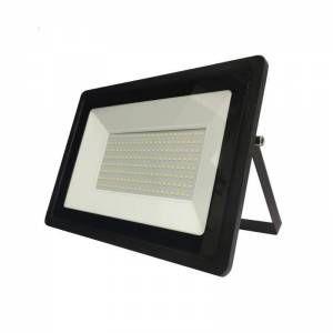 Silamp Projecteur LED Extérieur 150W IP65 Noir - Blanc Froid 6000K - 8000K