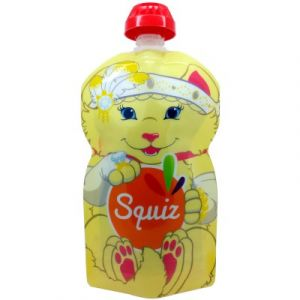 Squiz Gourde réutilisable Chaton 130 ml